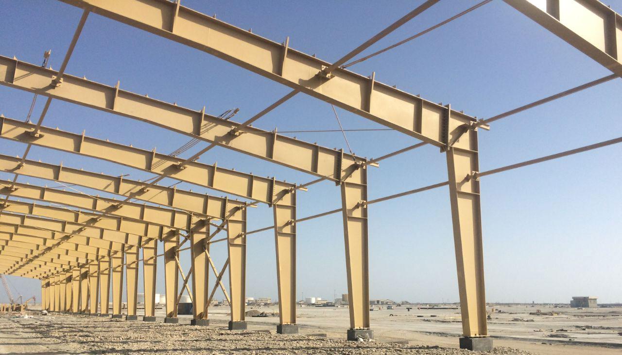 Chabahar Steel Structure - Sazeh Pardazan Co.