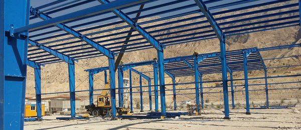 Damavand Ptrochemical Steel Structure Project