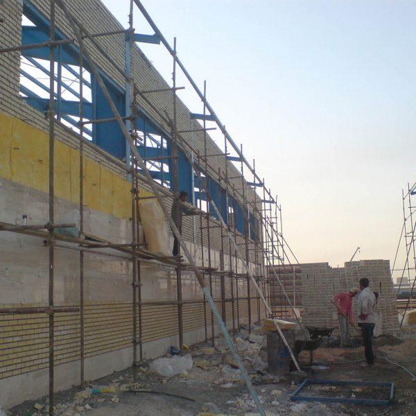 Damavand Ptrochemical Steel Structure Project - Sazeh Pardazan .Co