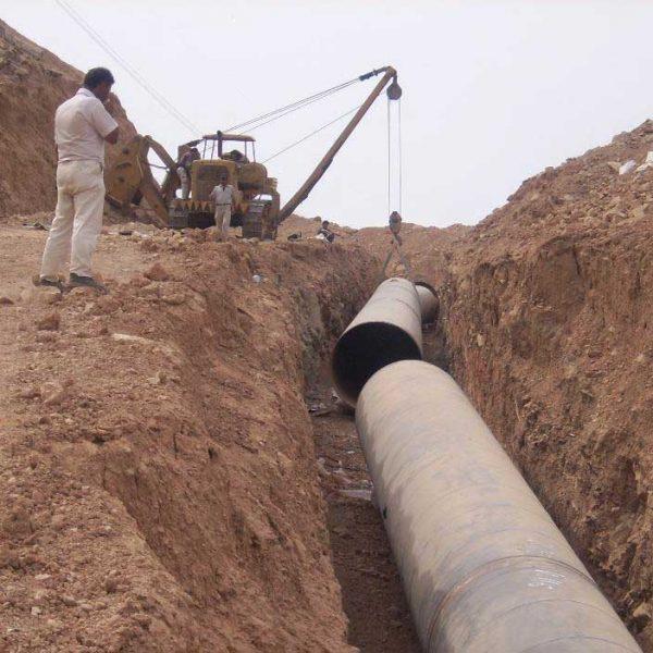 Masjed Soleyman Water Pipeline