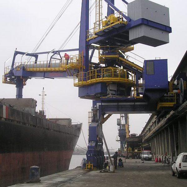 Tombak Port Project - Shiploader Sazeh Pardazan .Co