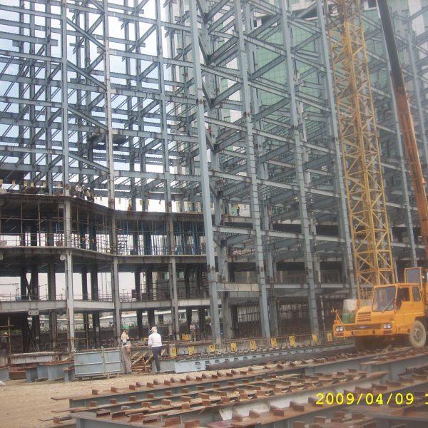 Central Saderat Bank Steel Structure Sazeh Pardazan Co.