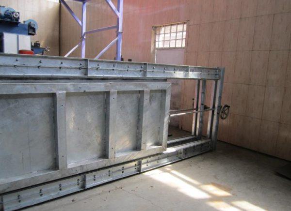 kermanshah petrochemical plant sluice gate