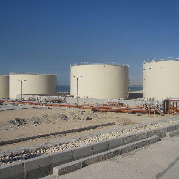 Mahshahr Oil Terminal vessel project